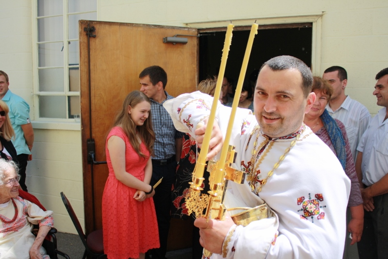 Divine Liturgy and Blessing of Baskets. Parish Easter Breakfast