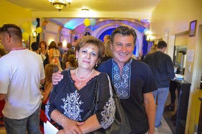 Celebrating the 26th anniversary of Ukrainian Independence.  Festive concert and dinner in Ukrainian Cultural Center.