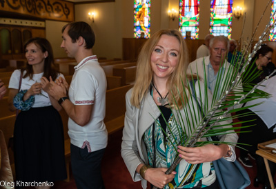 PALM SUNDAY. † THE ENTRY OF THE LORD INTO JERUSALEM.