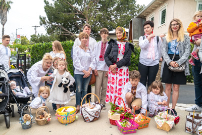 Divine Liturgy and Blessing of Baskets.
