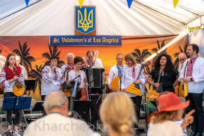 Annual Ukrainian Festival in Los Angeles. 2019