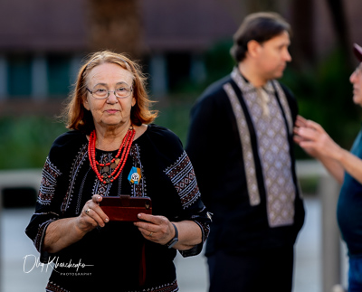 Ukrainian Genocide Memorial Service in 2019